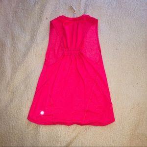 Lulu pink workout top